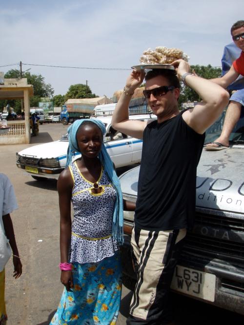 Girl At The Gambian Border